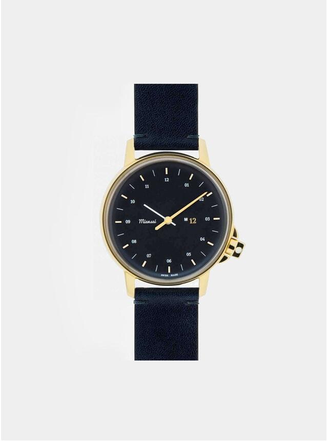 M12 Swiss Gold Watch - Navy Strap