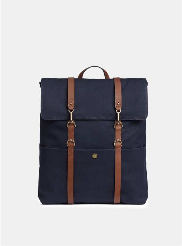 Midnight Blue / Cuoio MS Backpack