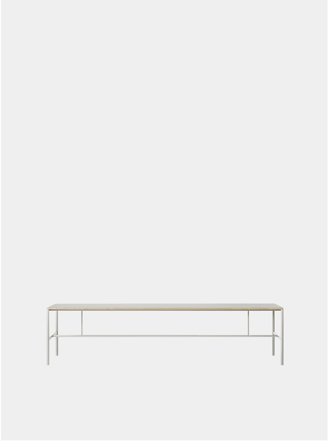 Light Grey Mies Conference Table