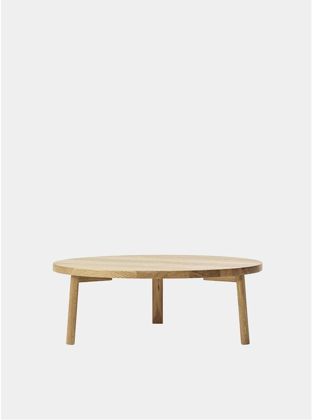 Oak Veneer Ease Lounge Table