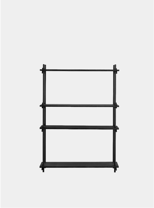 Black Low Single Shelving System