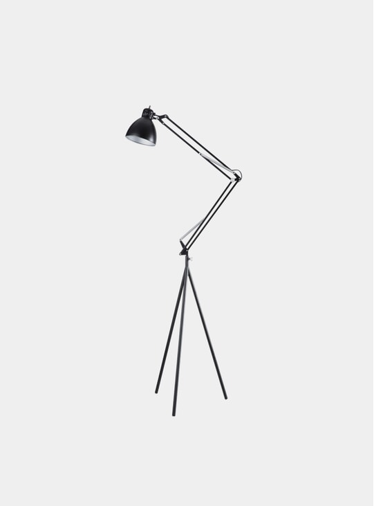 Black Stand Lamp Set