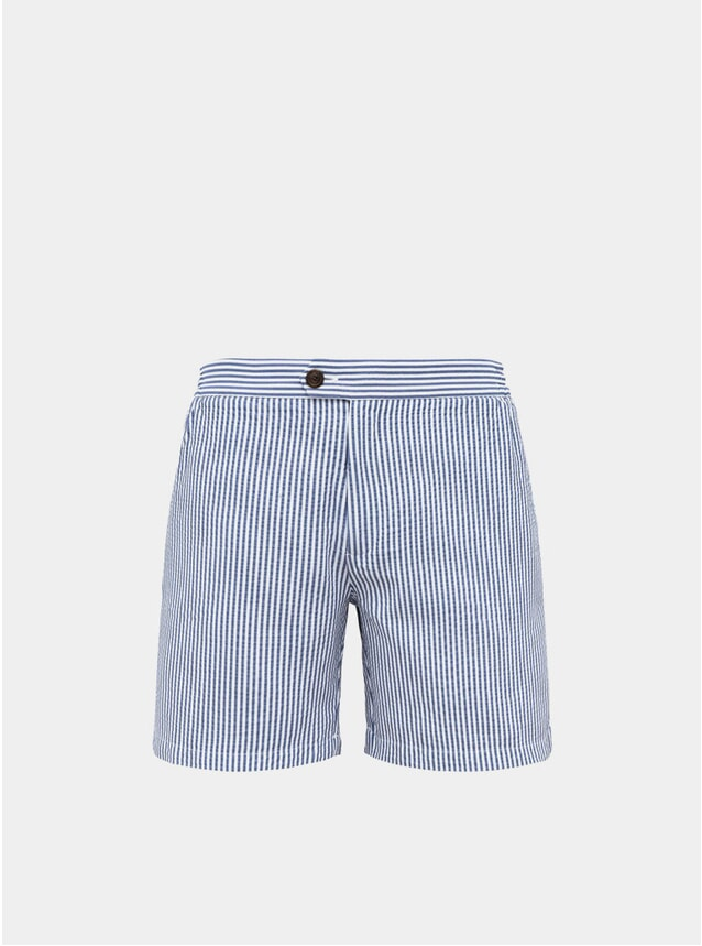 Blue Tailored Original Swim Shorts