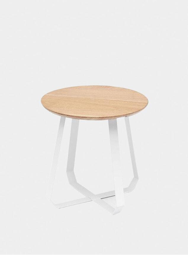 Tall White Shunan Table