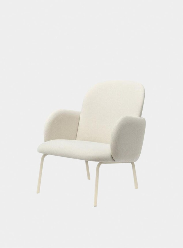 Ivory Dost Lounge Chair