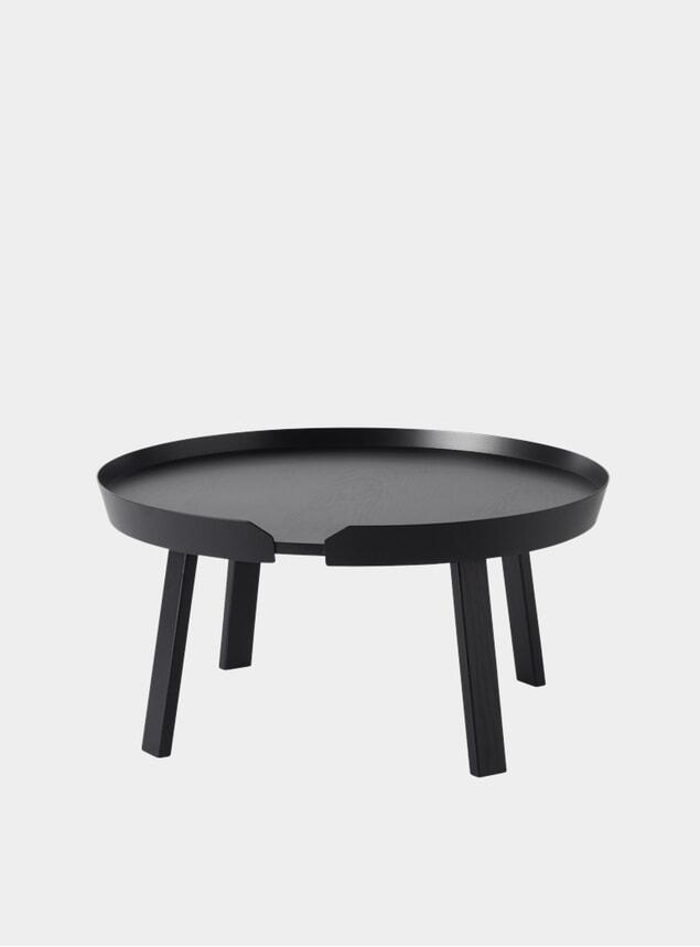 Black Large Around Coffee Table
