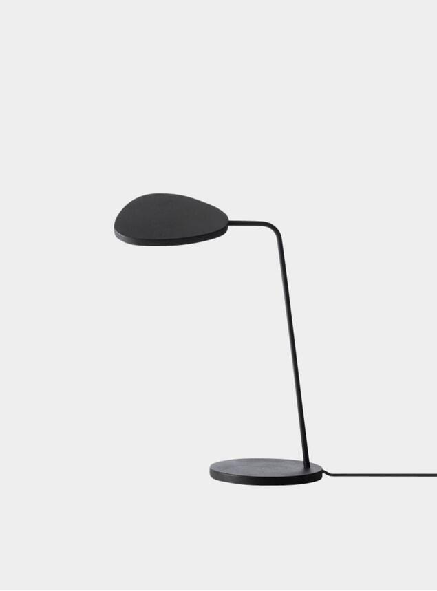 Black Leaf Desk Lamp