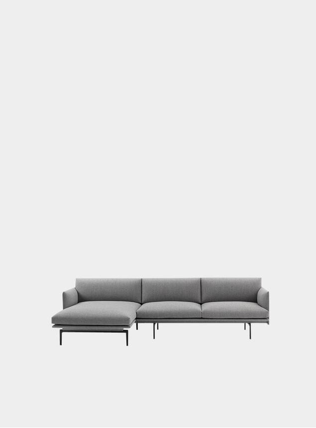 Fiord Chaise Lounge Sofa