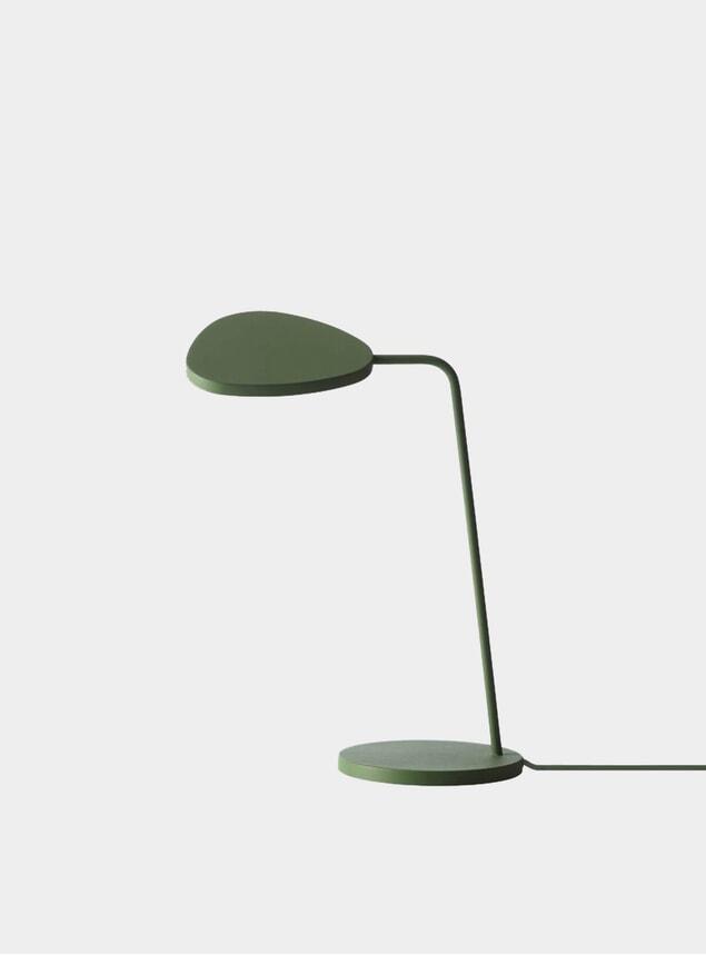 Green Leaf Desk Lamp