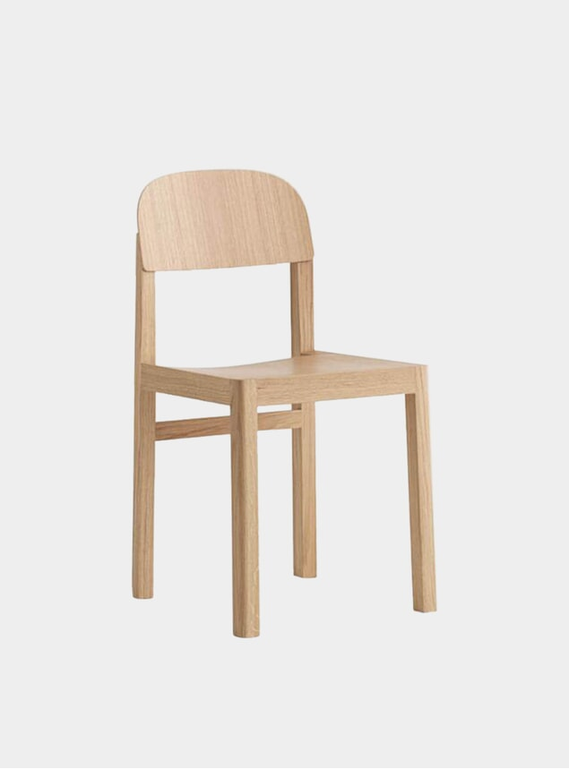Oak Workshop Dining Chair
