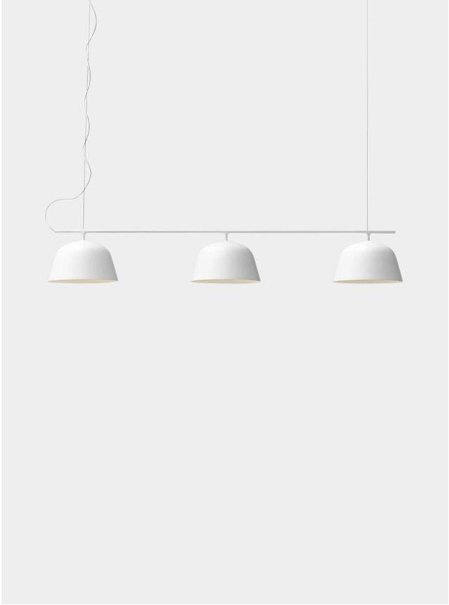 White Ambit Rail Lamp