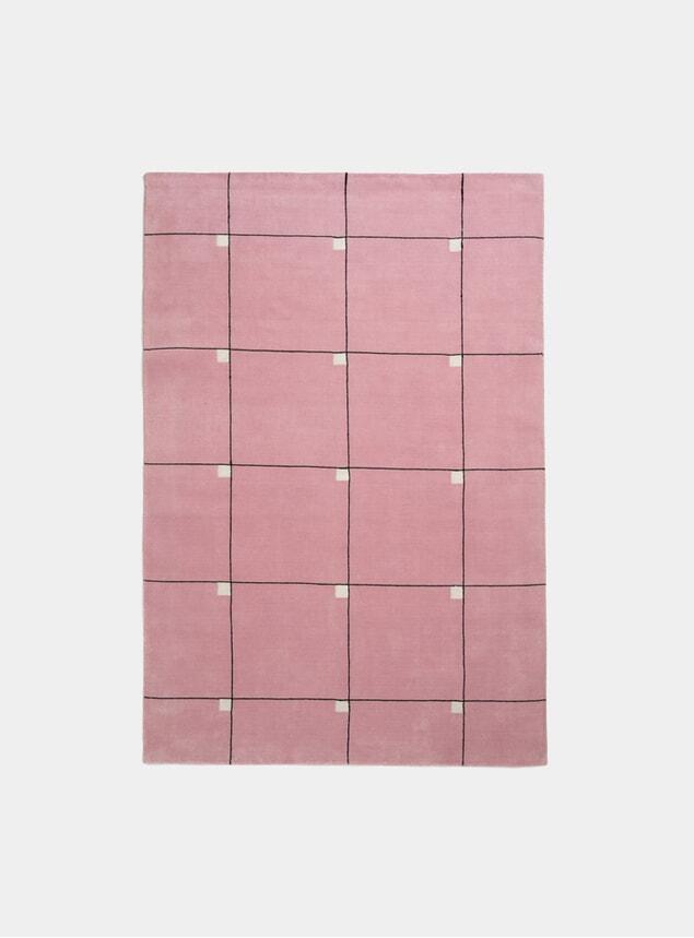 Pink Modern Rug