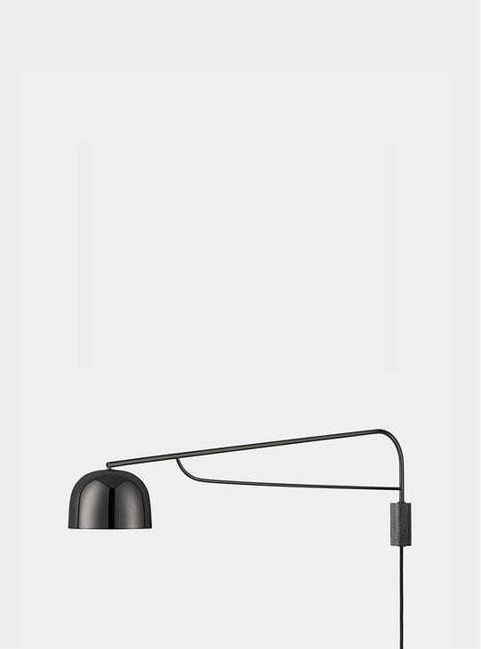 Black Grant Wall Lamp