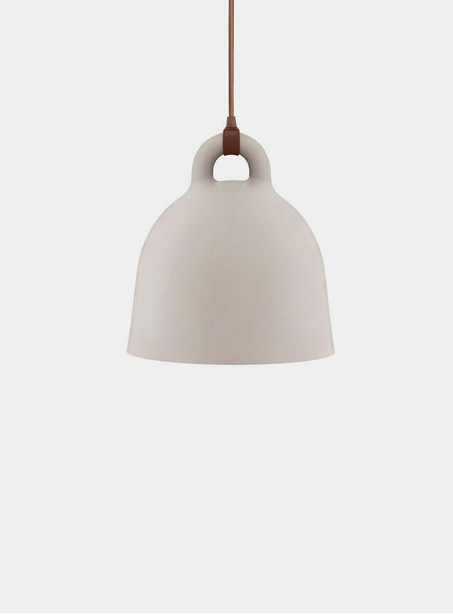 X-Small Sand Bell Pendant Lamp