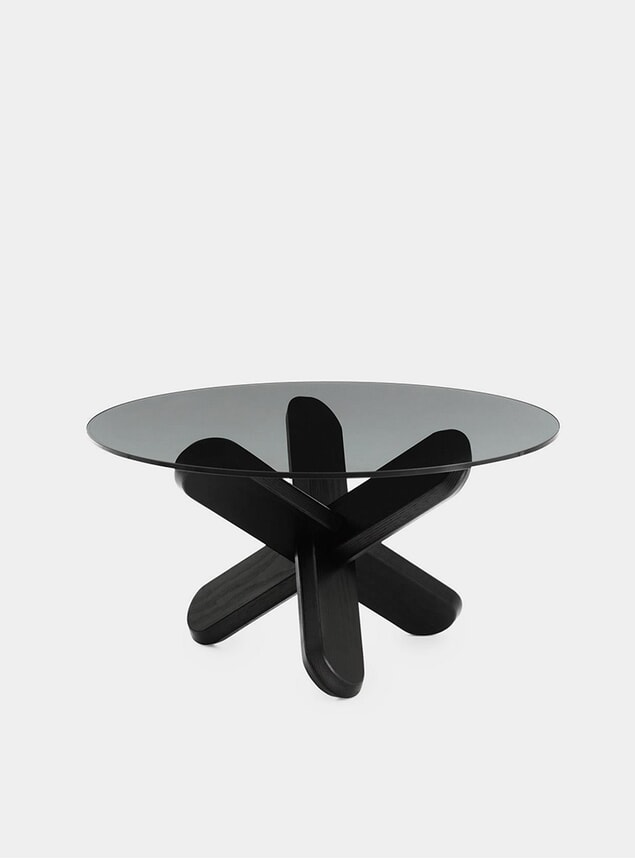 Smoke / Black Ding Table