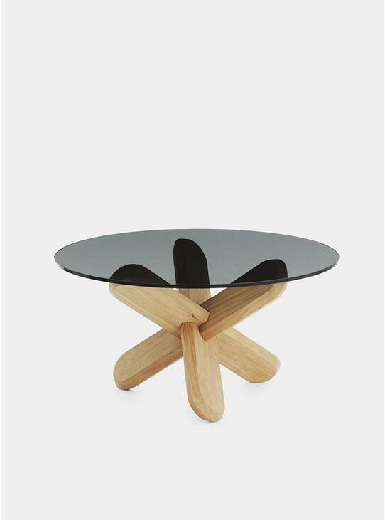 Smoke / Oak Ding Table