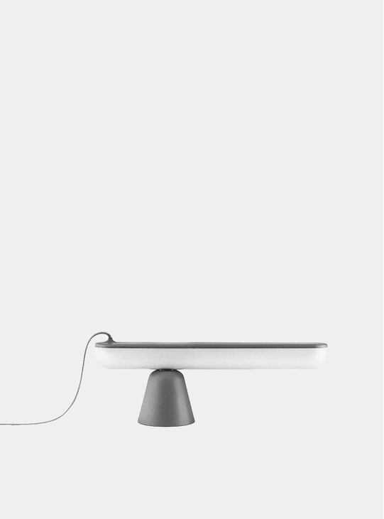 Grey Acrobat Table Lamp