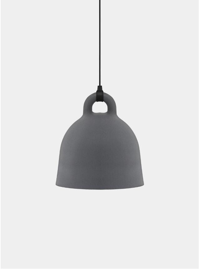 Grey Pendant Bell Lamp