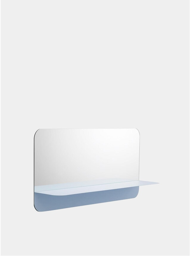 Light Blue Horizon Mirror
