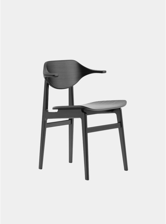 Black Buffalo Dining Chair