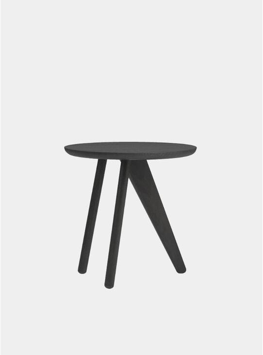 Black Fin Side Table