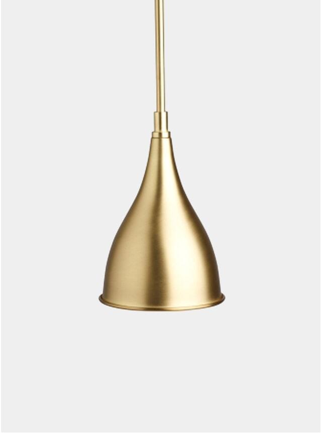 Brass Le Six Pendant Light