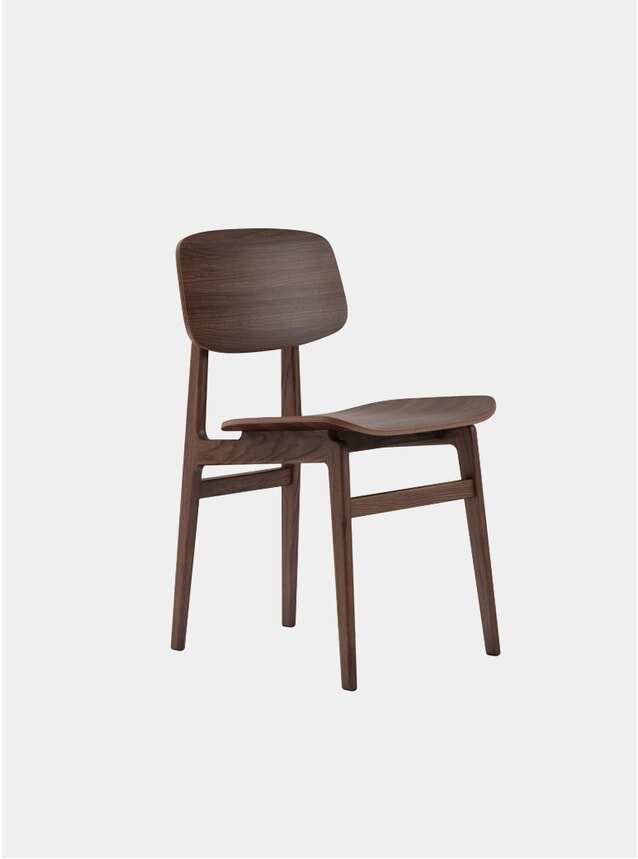 Dark Stained NY11 Dining Chair