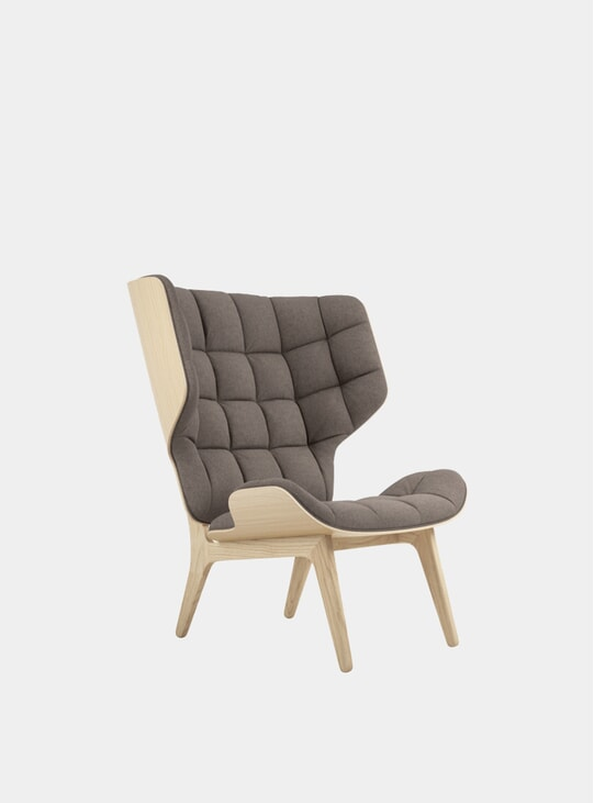 Fawn Wool / Natural Mammoth Chair