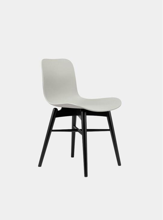Flint Grey / Black Beech Dining Chair