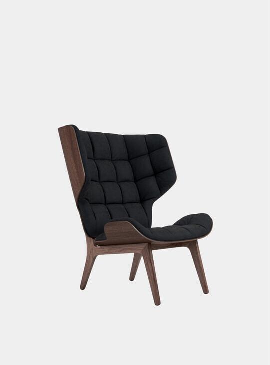 Midnight Blue Velvet / Mammoth Chair