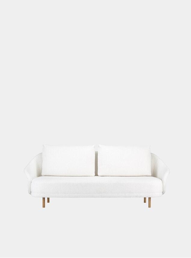 Natural Barnum Two Seater Sofa