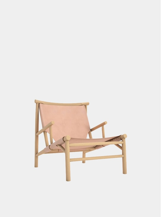 Nature Leather Samurai Chair