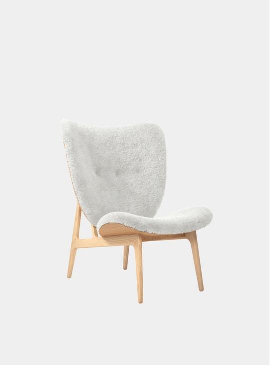 Sheepskin / Natural Elephant Chair