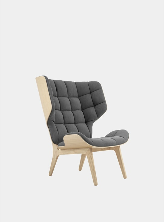 Washed Black Canvas / Mammoth Chair