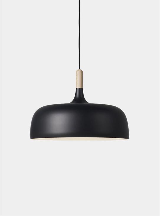 Black Acorn Pendant Light