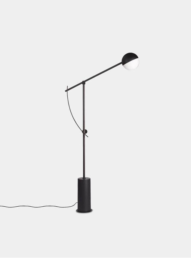 Black Balancer Floor Lamp