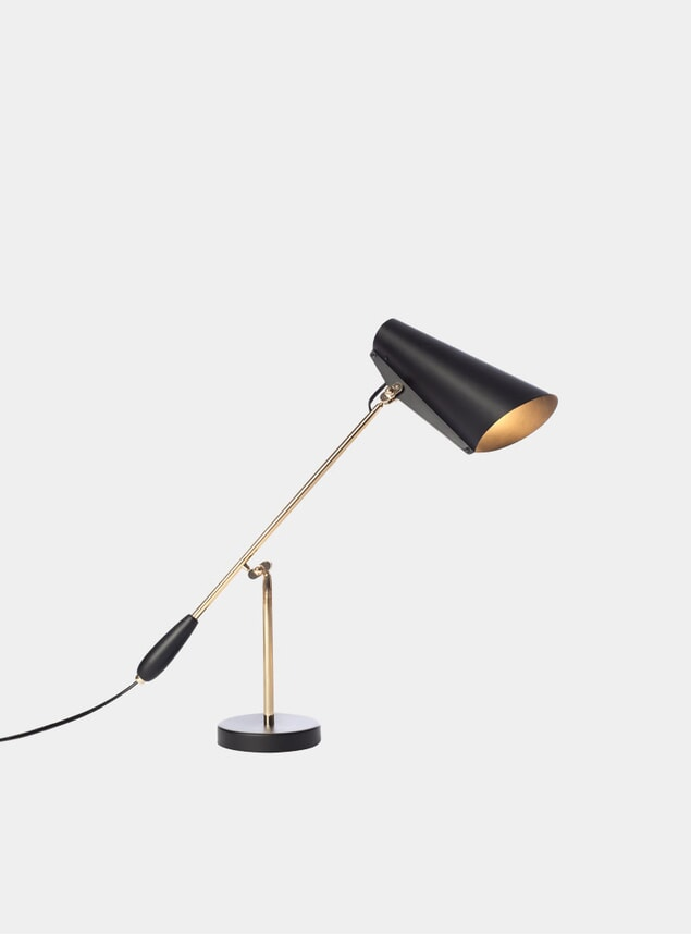 Black / Brass Birdy Table Lamp