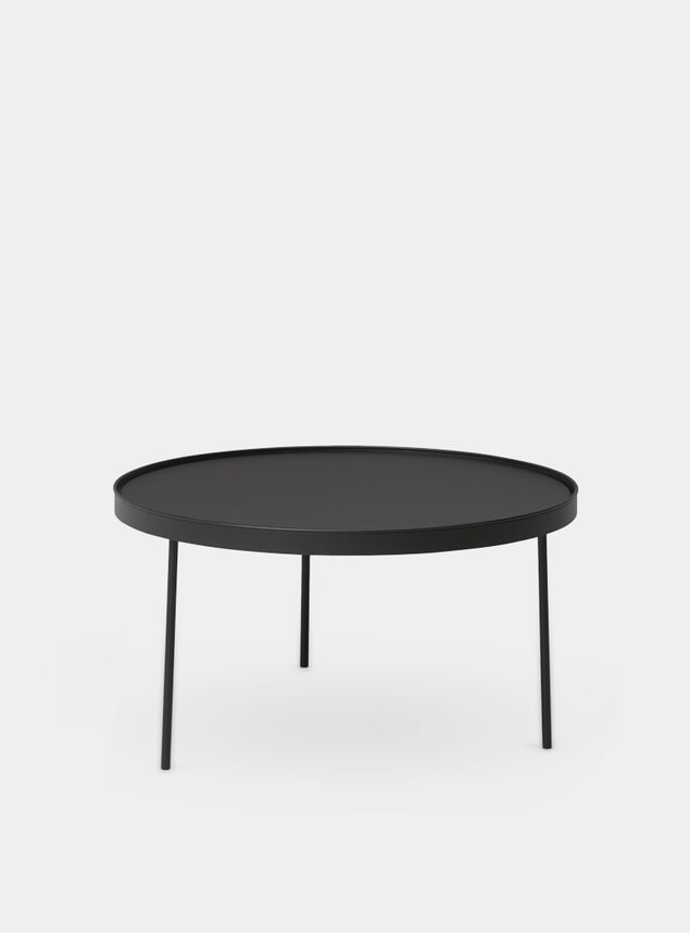 Black Large Stilk Side Table