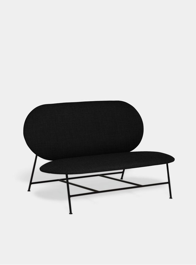Black Oblong Sofa