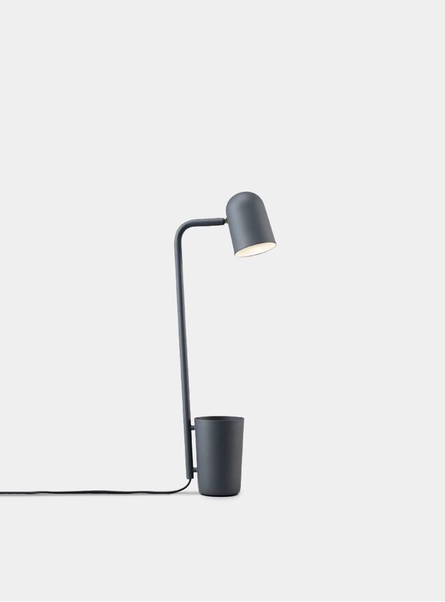 Dark Grey Buddy Table Lamp