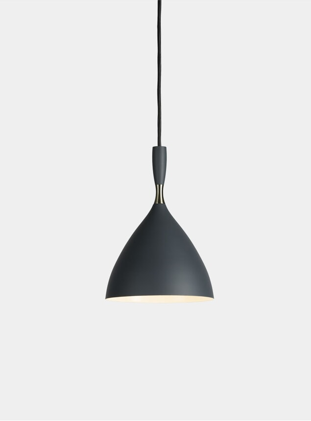 Dark Grey Dokka Pendant Lamp