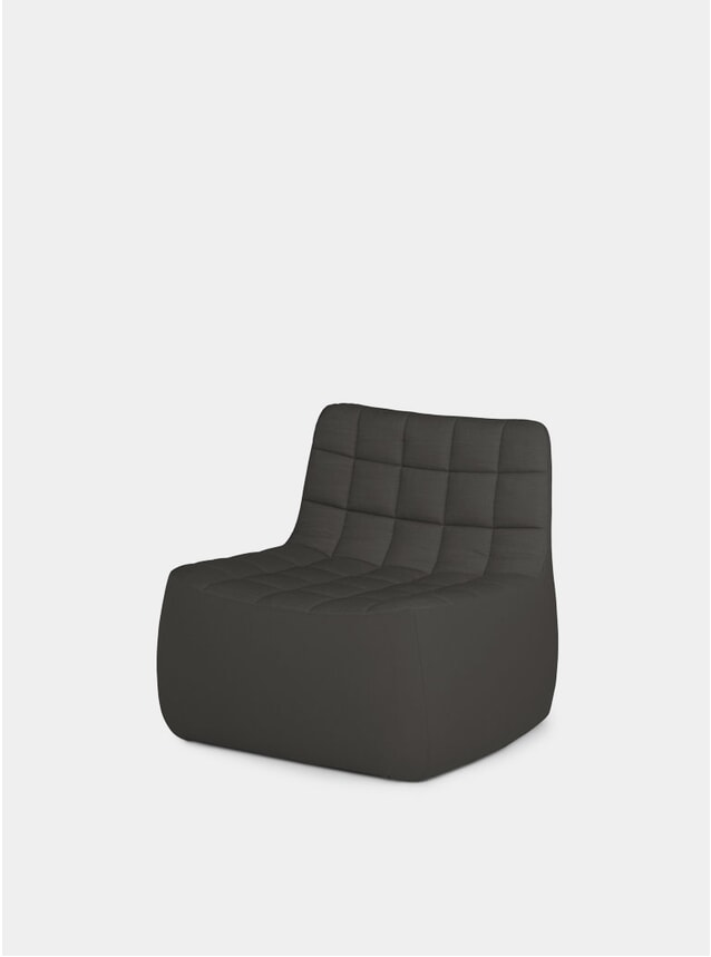Dark Grey Medium Yam Chair