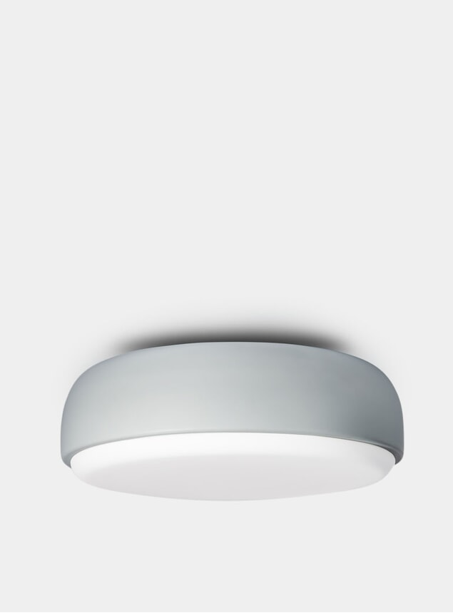 Dusty Blue Over Me Ceiling Light