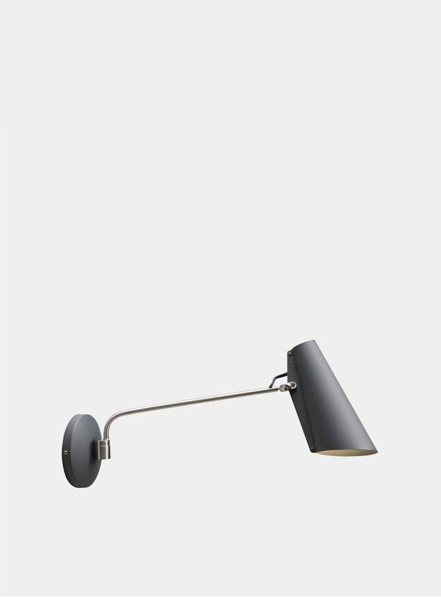 Grey / Metallic Birdy Wall Lamp