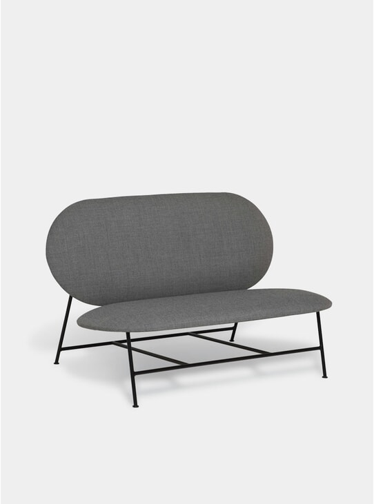 Grey Oblong Sofa