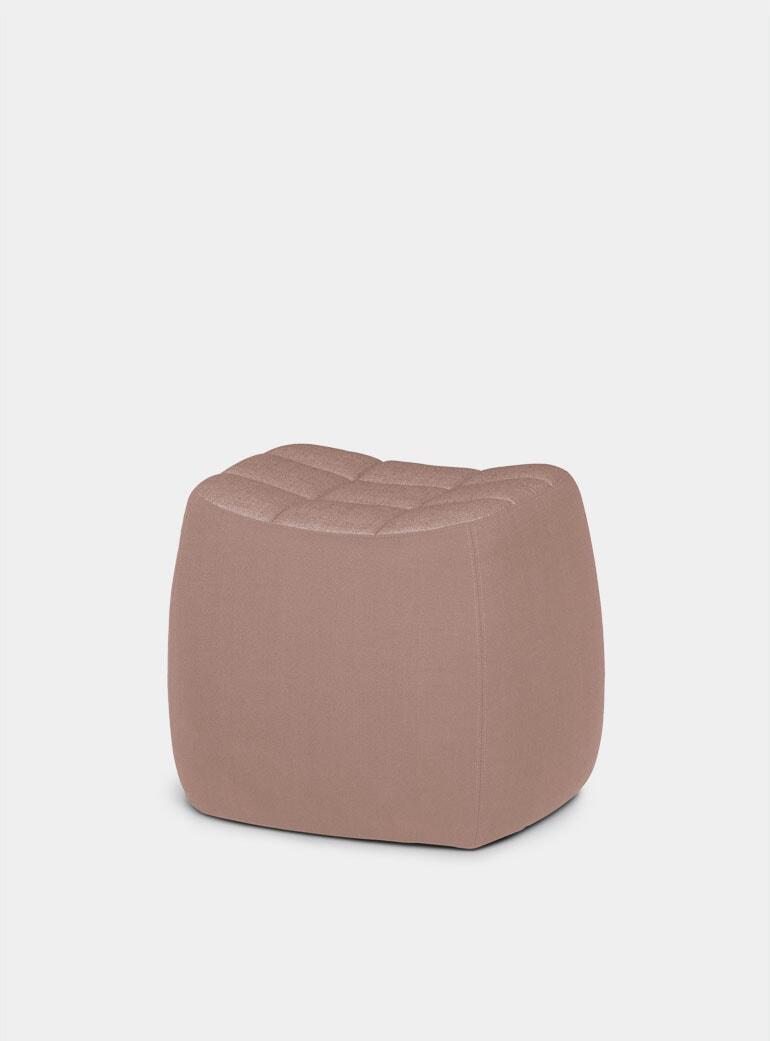 northern pink small yam pouf