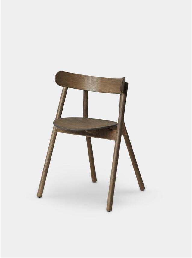 Smoked Oak Oaki Dining Chair
