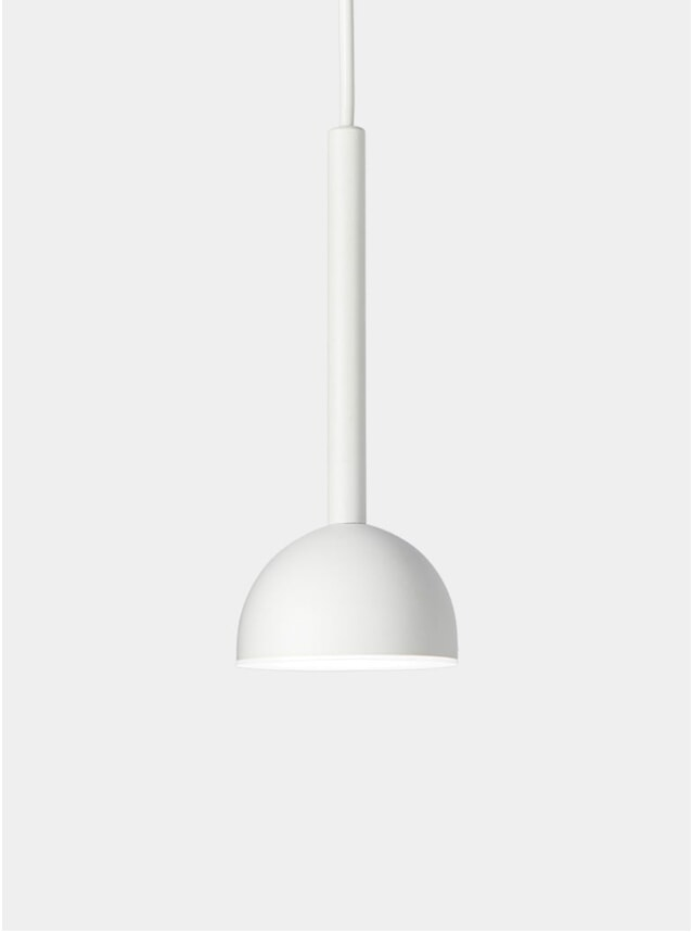 White Blush Pendant Light