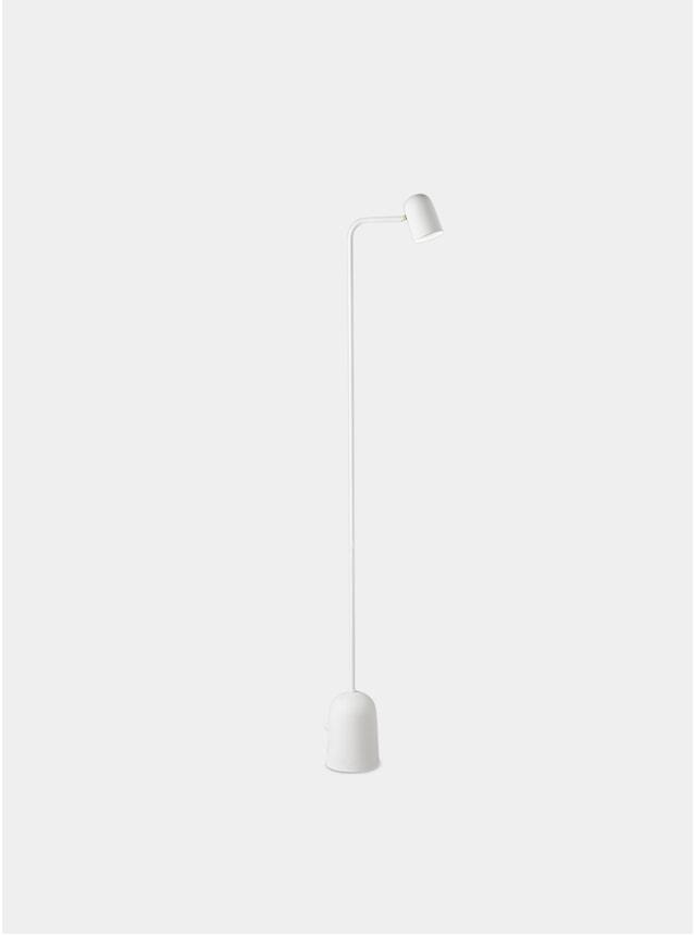 White Buddy Floor Lamp
