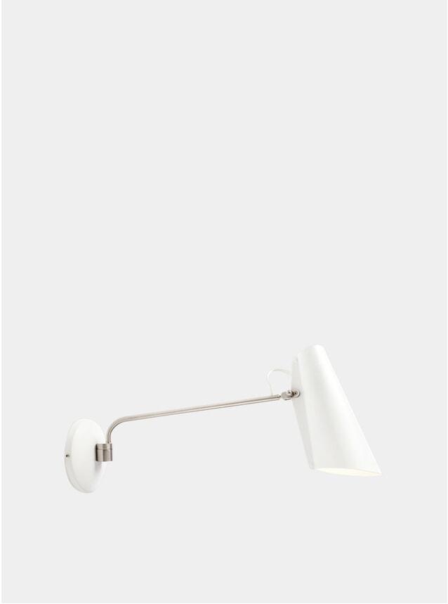 White / Metallic Birdy Wall Lamp